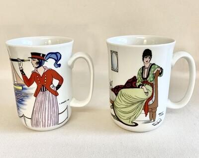 Villeroy and Boch Design 1900 Porcelain Mugs