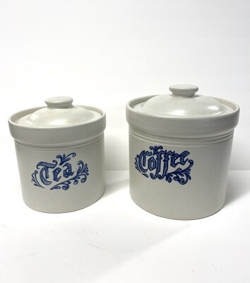 Pair of Pfaltzgraff Cannisters