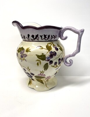 Tracey Porter Hand Painted Pitcher