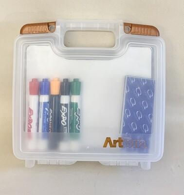 """""""Art Bin"""" Dry Erase Boards & Markers"""