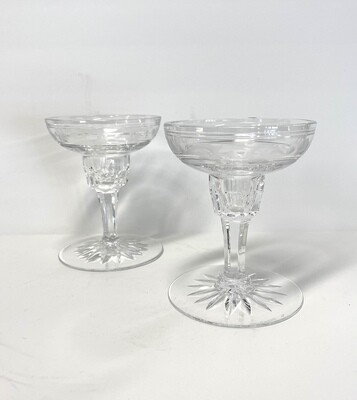 Wedgwood  Glass Candlesticks