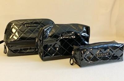 Tahari 3 Piece Cosmetic Travel Trio Bags