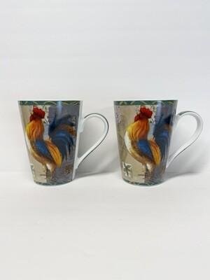Konitz Rooster Mugs