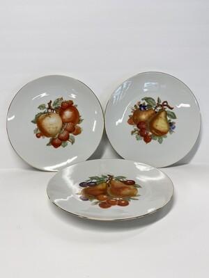Vintage German China Fruit Plates