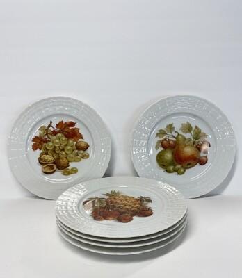 Vintage German Desert Plates