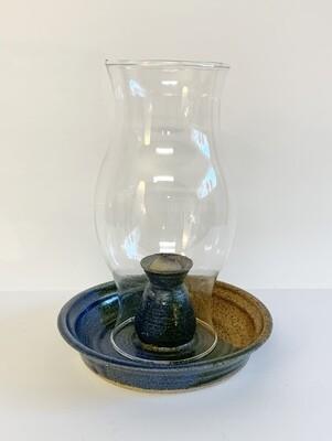 Ceramic Oil Lamp-Signed