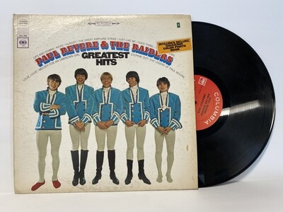 Vintage Paul Revere & The Raiders Album