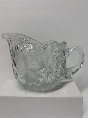 Vintage Cut Glass Creamer