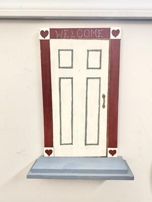 """Welcome"" Shelf"
