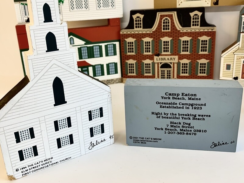 Assorted Cat's Meow Village Pieces