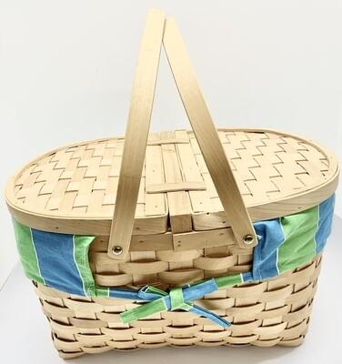Picnic Basket, Lined