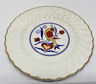 Vintage Penna Dutch Country Plate
