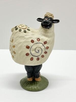 Sheep Bobble Head Figure