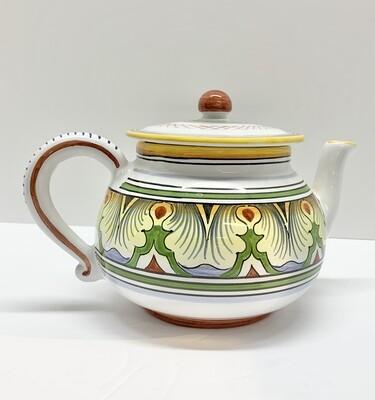 Vintage Deruta Italian Pottery Tea Pot