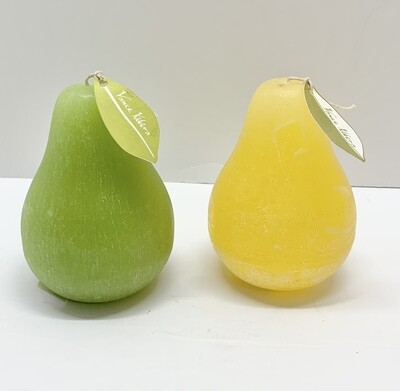 A Pair of Pear Shaped Candles