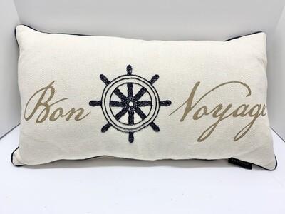 Bon Voyage Decorative Pillow by Envogue
