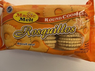 Magic Melt - Rosquillos Round Cookies - 190 Grams