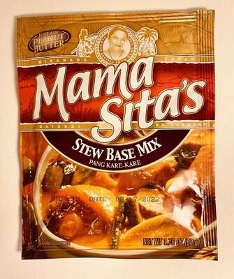 Mama Sita's - Stew Base Mix Pang Kare-Kare - 50 Grams
