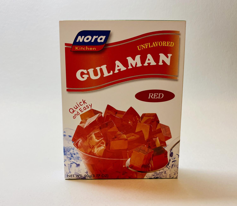 Nora Kitchen - Unflavored Gulaman Red - 90 Grams