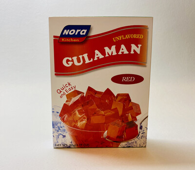 Nora Kitchen - Unflavored Gulaman Red - 90 Grams
