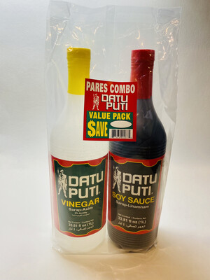 Datu Puti - Soy Sauce & Vinegar Value Pack - 1000 ML