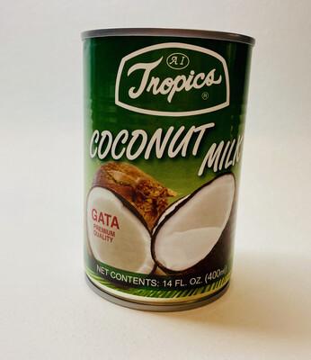 Tropics - Coconut Milk - 14 OZ