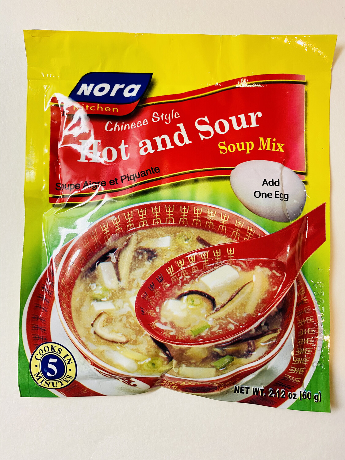 Nora Kitchen - Hot And Sour Soup Mix - 60 Grams