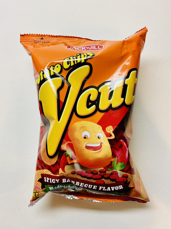 Jack 'n Jill - Vcut Chips Spicy BBQ - 60 GRAMS