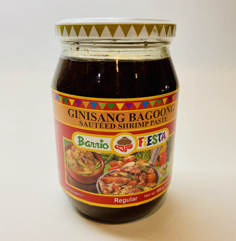 Barrio Fiesta - Ginisang Bagoong Regular - 500 Grams