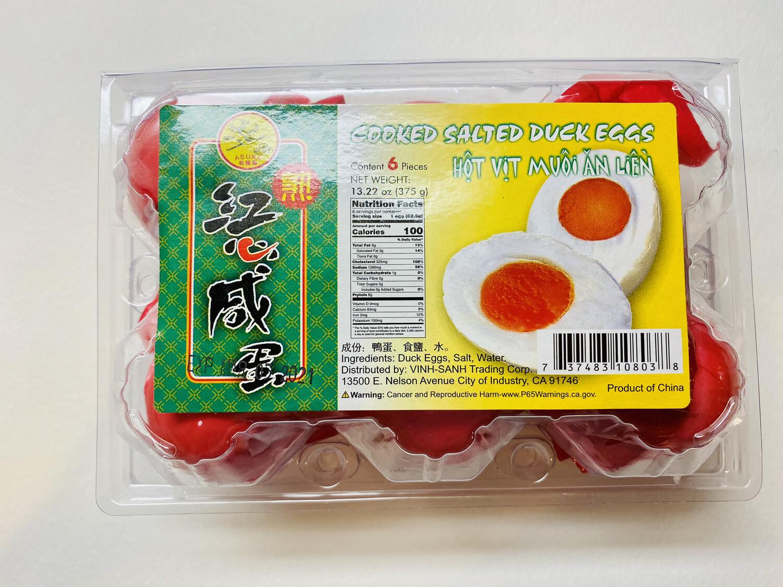 Asuka - Salted Duck Egg (Itlog na Maalat) 6 PCS/PK