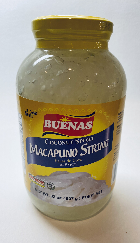 Buenas - Macapuno String - 32 OZ