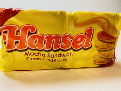 Hansel - Mocha Sandwich Cream-Filled Biscuits - 10 PCS/PK
