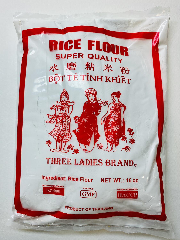 Three Ladies - Brand Rice Flour - 16 OZ