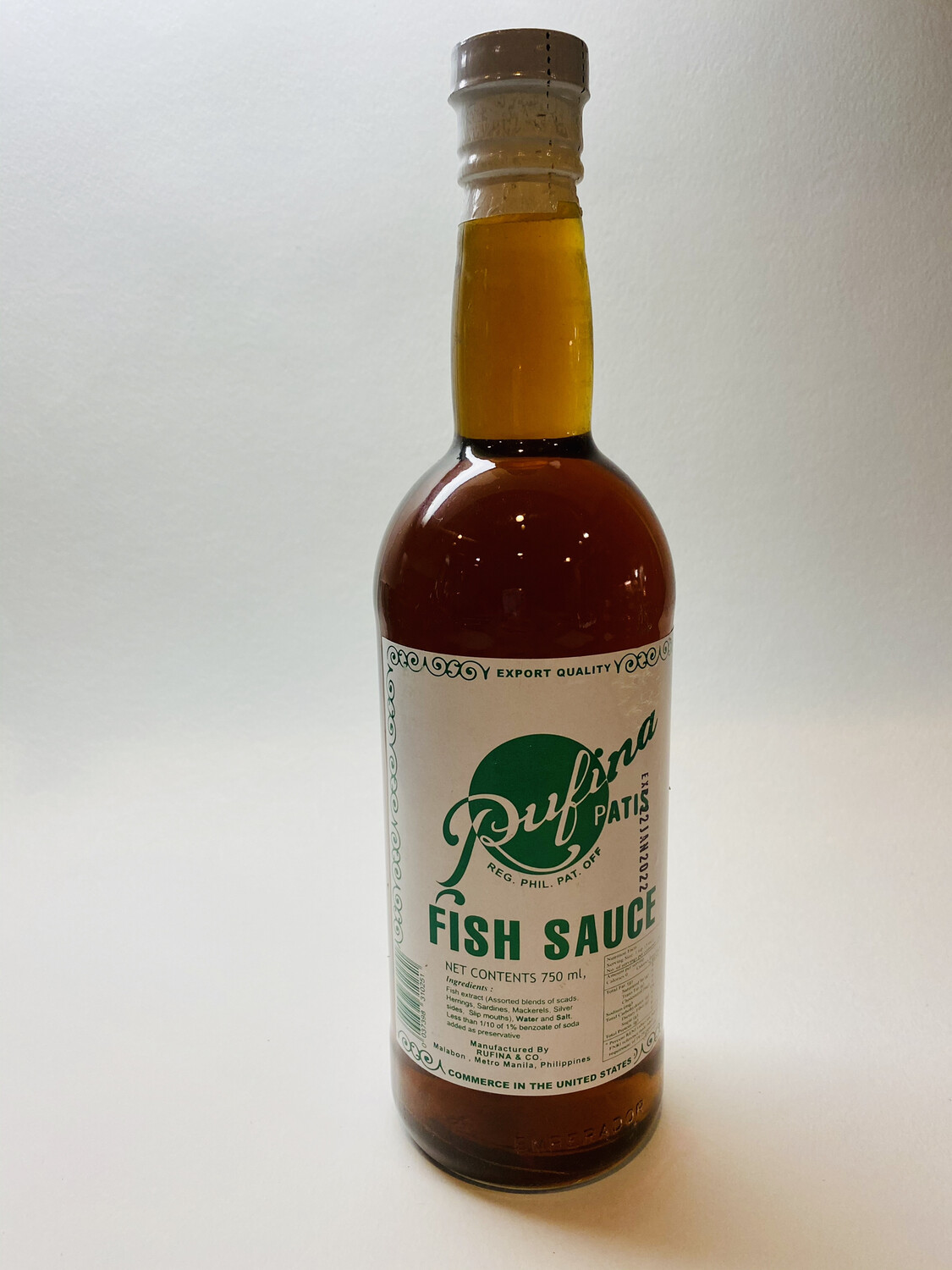 Rufina - Fish Sauce Patis - 750 ML