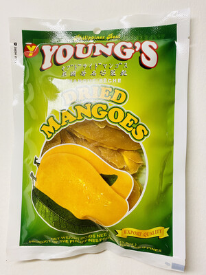 Young's - Dried Mangoes - 100 Grams