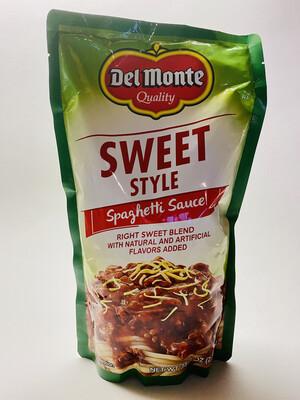 Del Monte - Sweet Style Spaghetti Sauce - 1 Kilograms