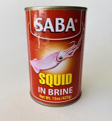 Saba - Squid In Brine - 15 OZ