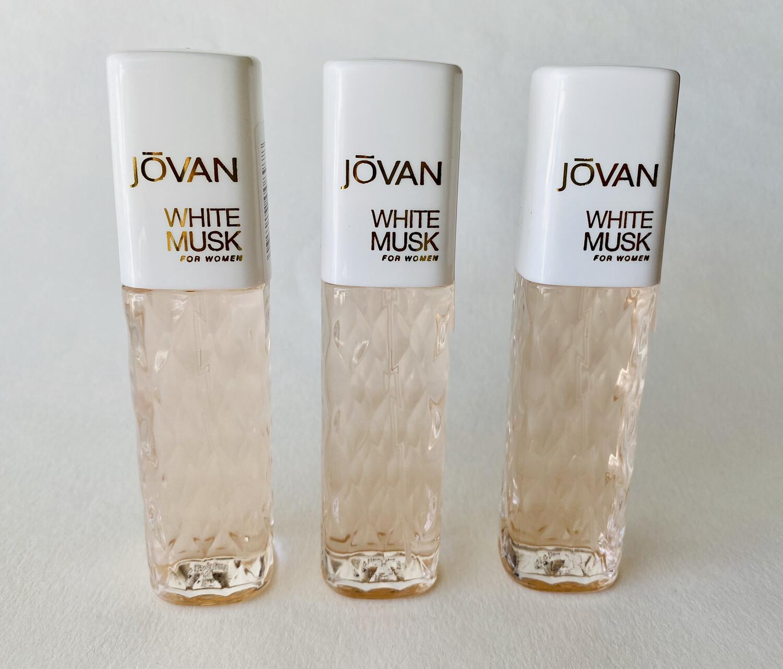 Jovan White Musk For Women 3 Pack