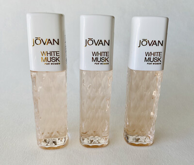 Jovan White Musk For Women 3 Pack