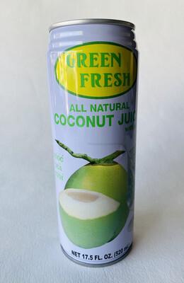 Green Fresh - Coconut Juice - 17.5 OZ