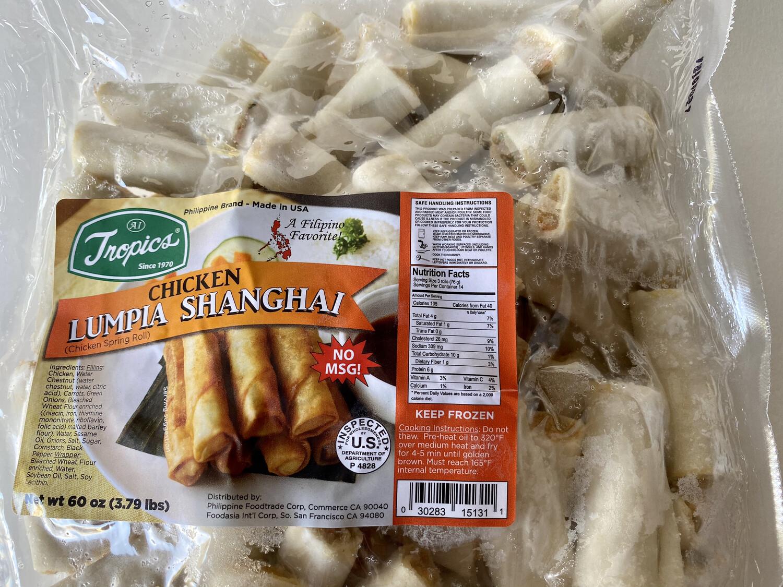 Tropics - Lumpia Shanghai Chicken Bulk - 3.79 LBS