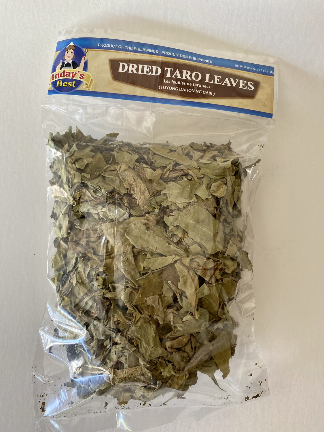 Inday's Best - Dried Taro Leaves - 100 Grams