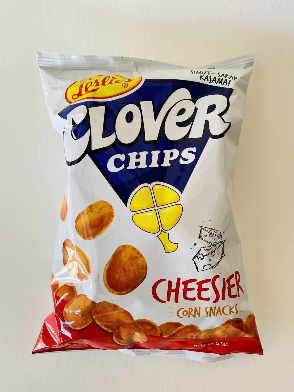 Leslie's - Clover Chips Cheesier Corn Snacks - 7 OZ