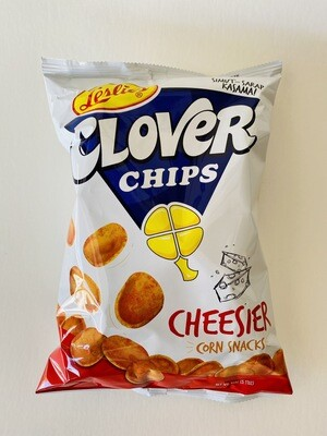 Leslie's - Clover Chips Cheesier Corn Snacks - 7 OZ