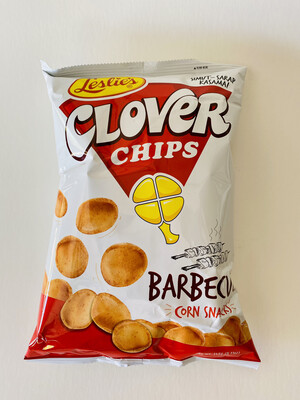 Leslie's - Clover Chips  Barbecue Corn Snacks - 7 OZ