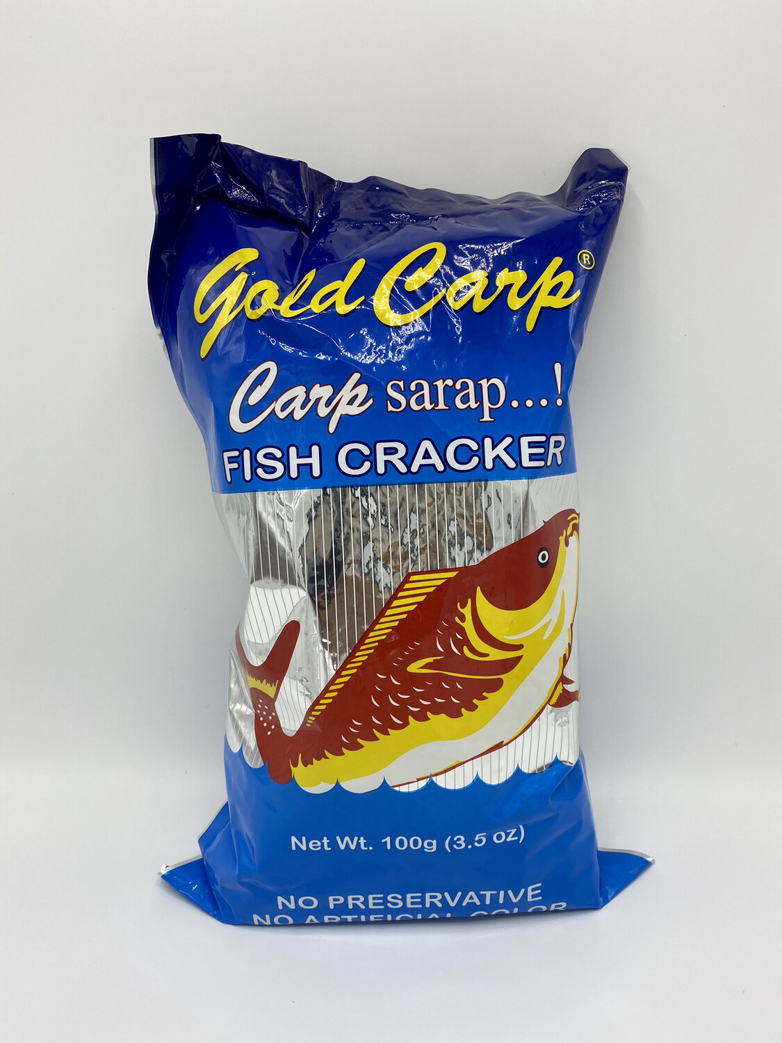 Gold Carp Fish Cracker