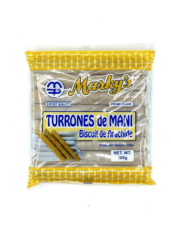 Marky's Turrones De Mani 100 Grams