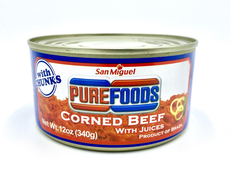 San Miguel Purefoods Corned Beef 12 Oz