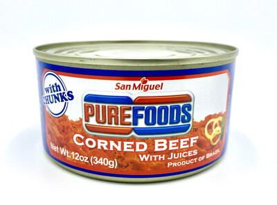 San Miguel Purefoods Corned Beef (Brazil) 12 Oz