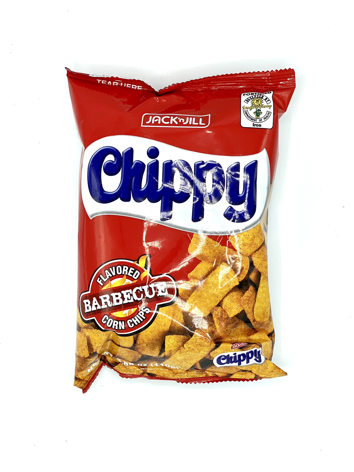 Jack 'n Jill - Chippy Barbecue flavored corn chips - 100 GRAMS